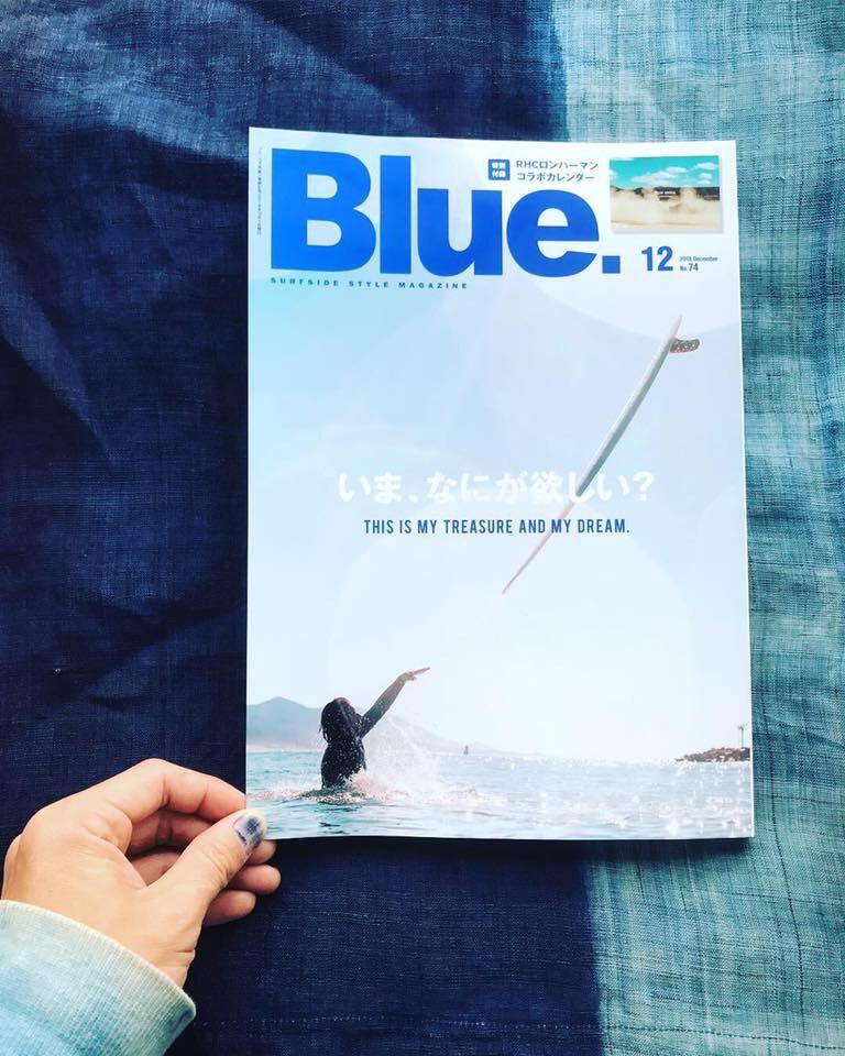 Blue magazine 12月号