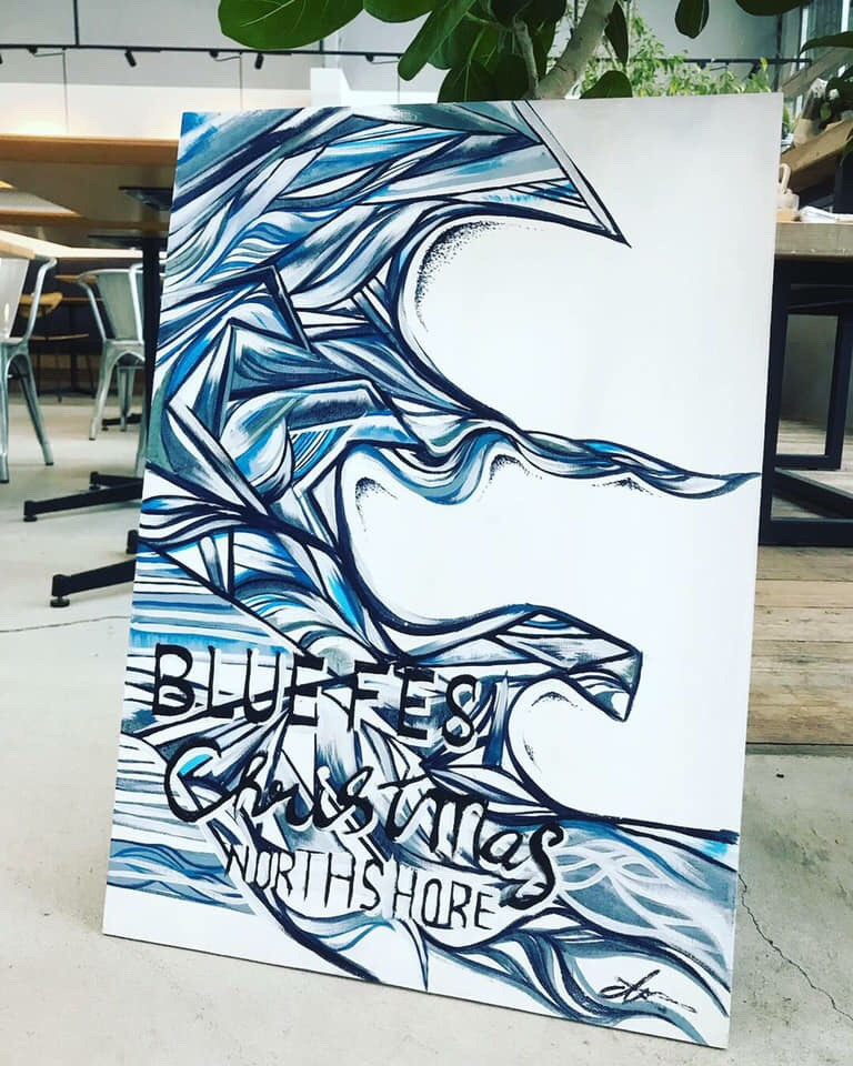 indigo BLUE art
