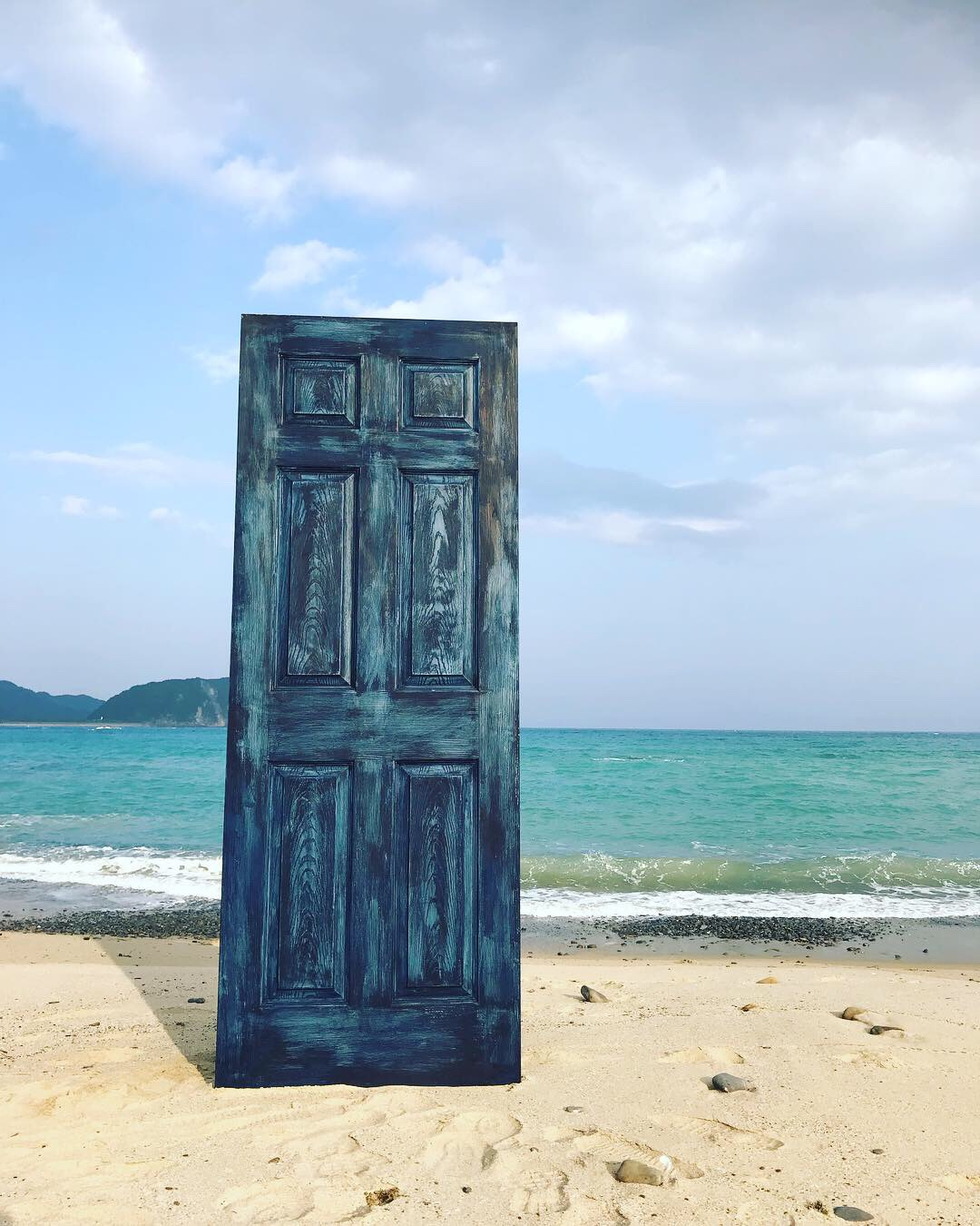 The indigoblue door🌊