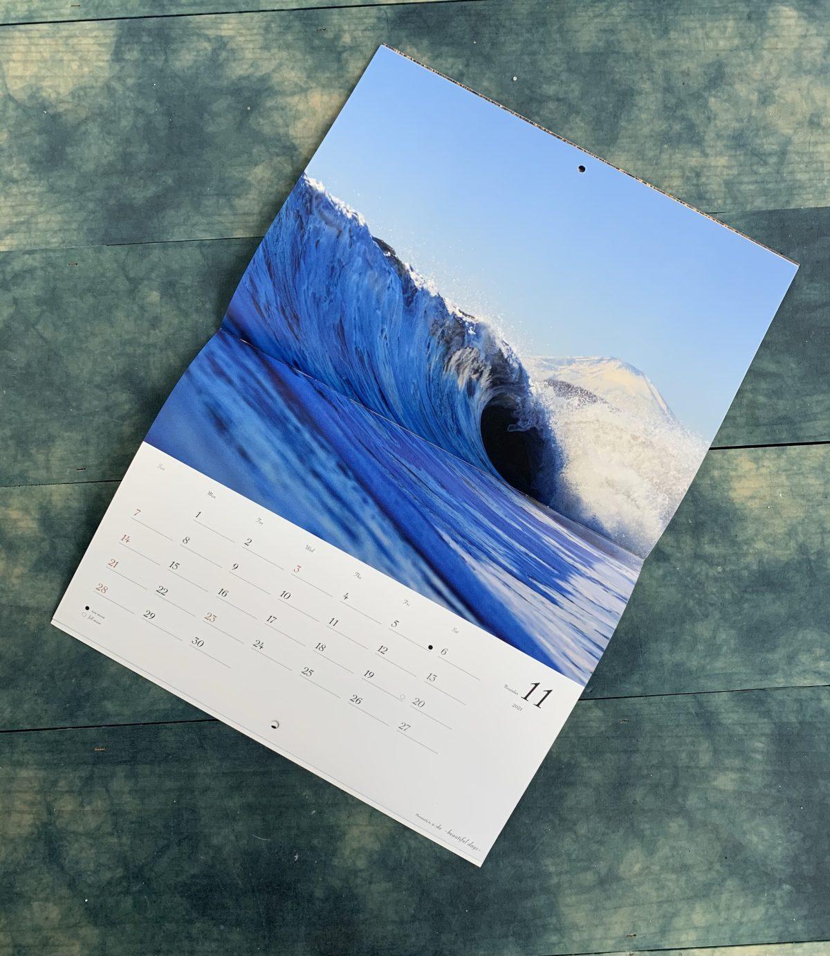 Uske Suzuki calendar 2021 🌊🗻🎁