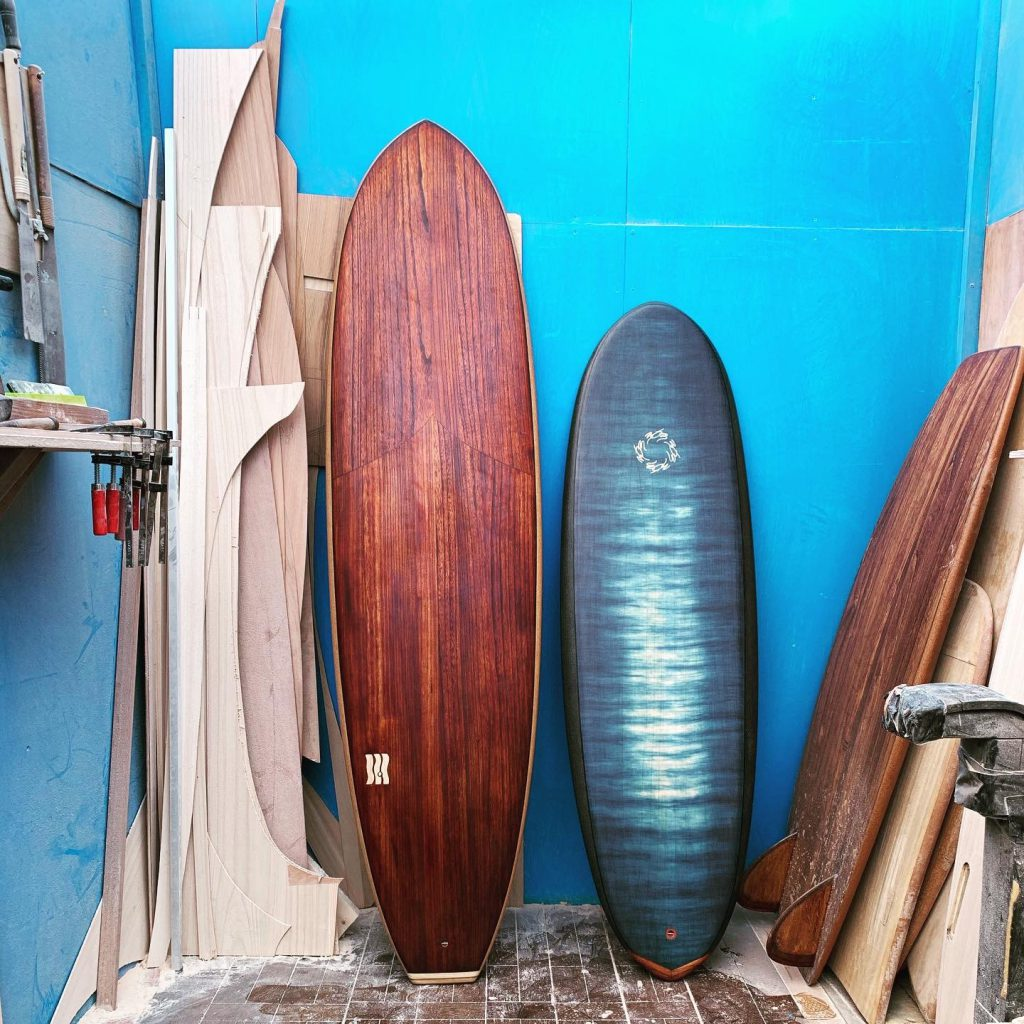 The suistanable surfboard